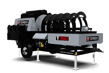 Desaguador Rotativo Trident 150